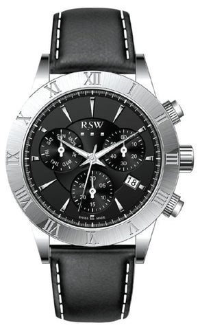 RSW Black Dial Gents Watch