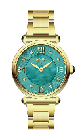 RSW Green Dial Ladies Watch