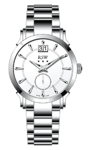 RSW White Dial Gents Watch