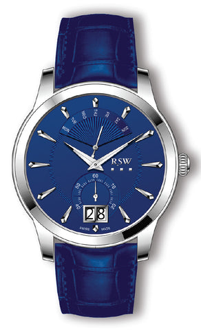 RSW Blue Dial Gents Watch