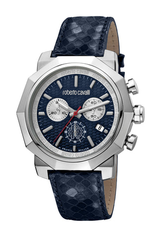 Roberto Cavalli by FM Watch Gents Dark Blue  Dial