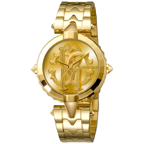 Roberto Cavalli Champagne Dial Ladies Watch
