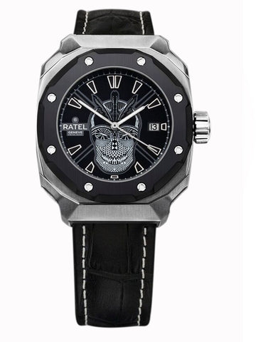 Ratel Gents SILVER SKULL Watch