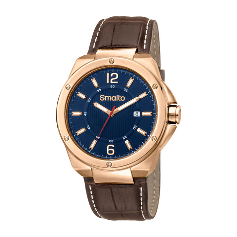 Smalto Blue Dial Gents Watch