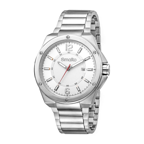 Smalto Silver Dial Gents Watch