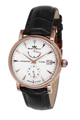 Yonger & Bresson Gents White Dial Watch