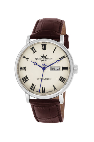 Yonger & Bresson Gents Beige Dial Watch