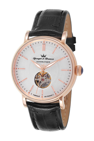 Yonger & Bresson Gents Silver Dial Watch