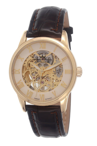 Yonger & Bresson Gents White Ring Dial Watch