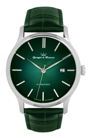Yonger & Bresson Gents Green Dial Watch