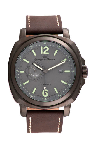 Yonger & Bresson Gents Brown Dial Watch
