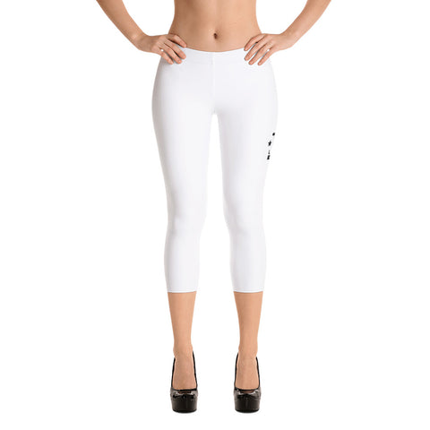 TST Legacy Supreme Fit Capri Leggings - White