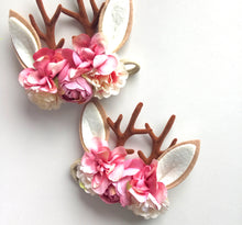 Reindeer Floral Headpiece