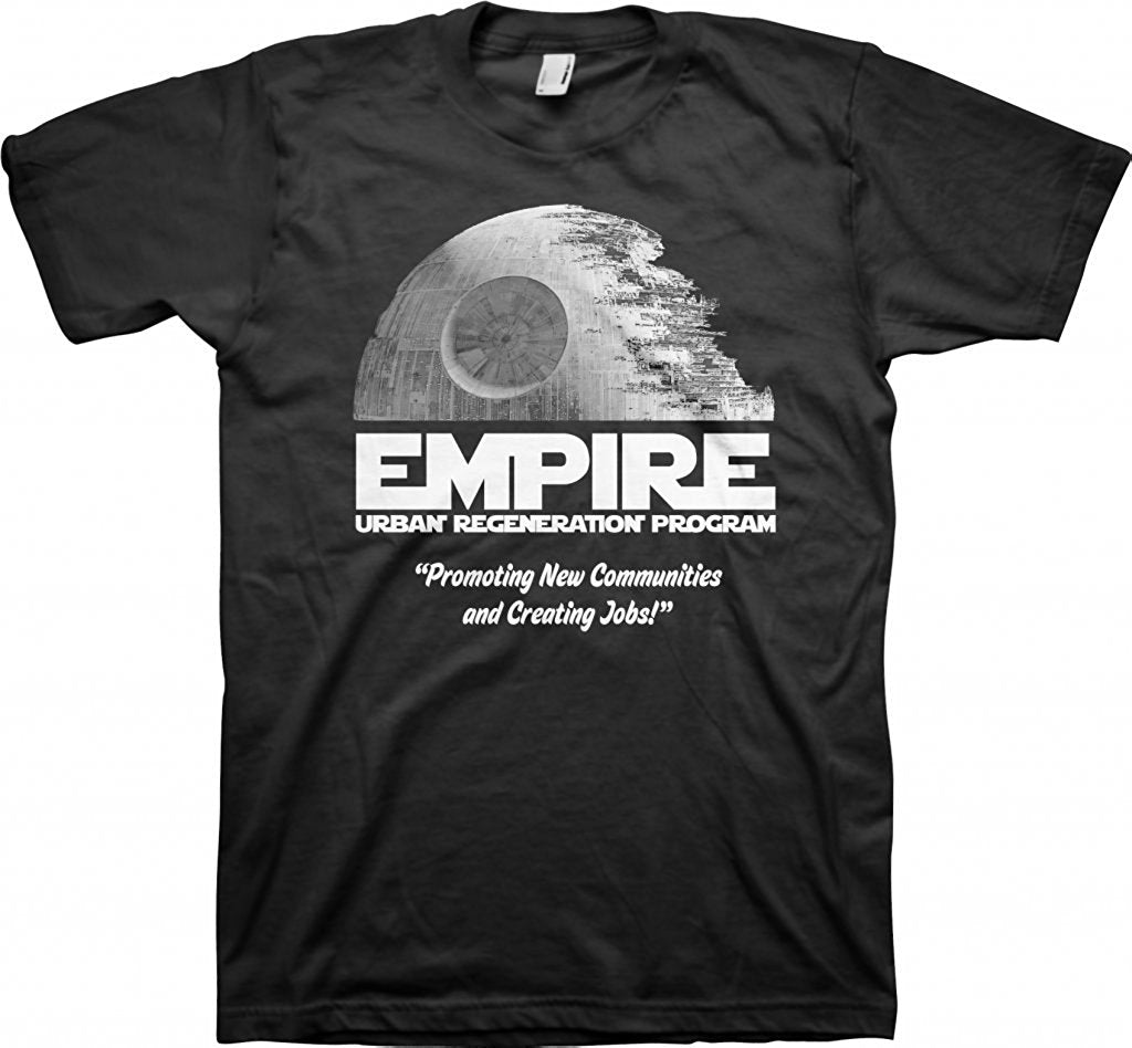 Empire Urban Regeneration Program - Death Star T-shirt