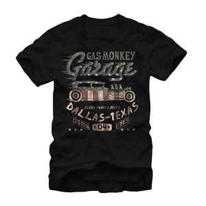 Gas Monkey Vintage American Hot Rod Mens Graphic T Shirt