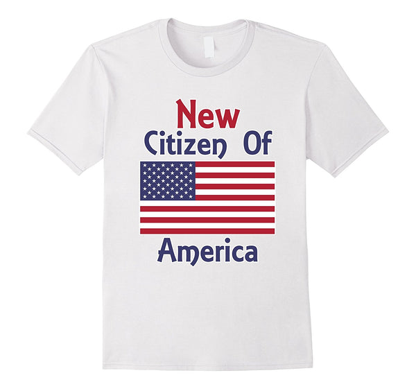 New Citizen of America T-Shirt Citizenship Vote Election