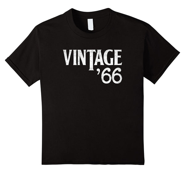 1966 Distressed 60's Vintage '66 51st Birthday T-Shirt
