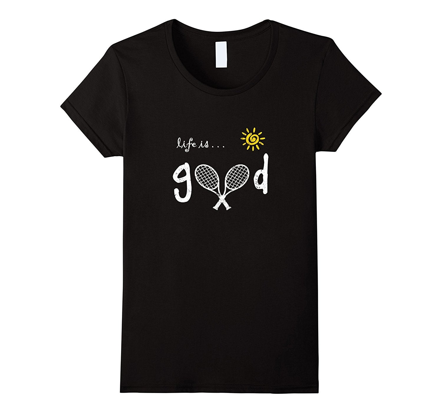 Life is Good Tennis Shirt Tennis TShirt