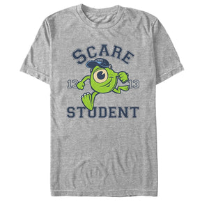 Monsters Inc Mike Scare Student Mens Graphic T Shirt