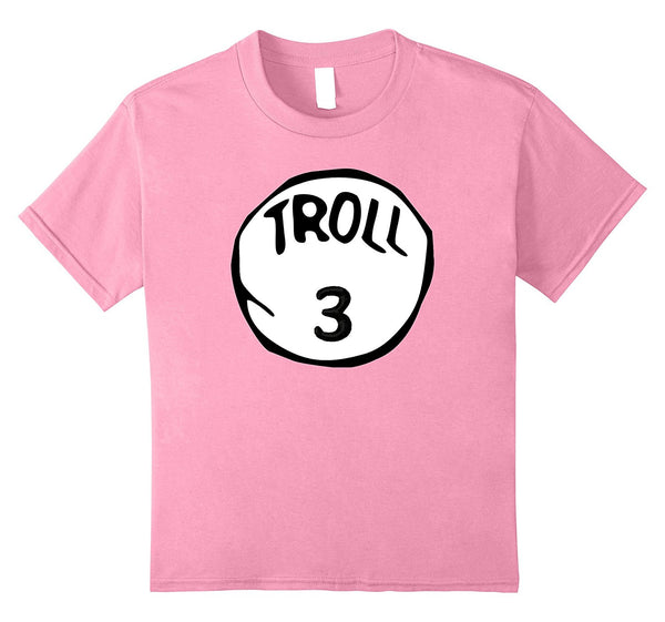 Troll 3 Trick or Treat Halloween Trolls Costume T-Shirt