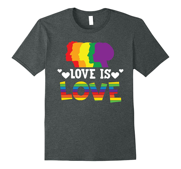 Love Is Love LGBT Pride Shirt - Unisex Equality Love T-shirt