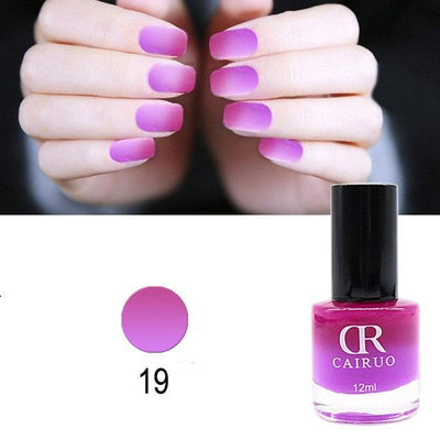 Vernis à ongles Thermoactif bicolore - 26 couleurs
