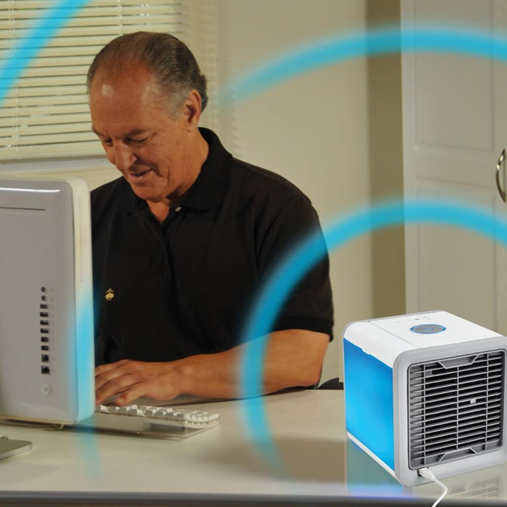 Arctic Air Cube - Portable A/C System on Demand!-Fresh & Minty