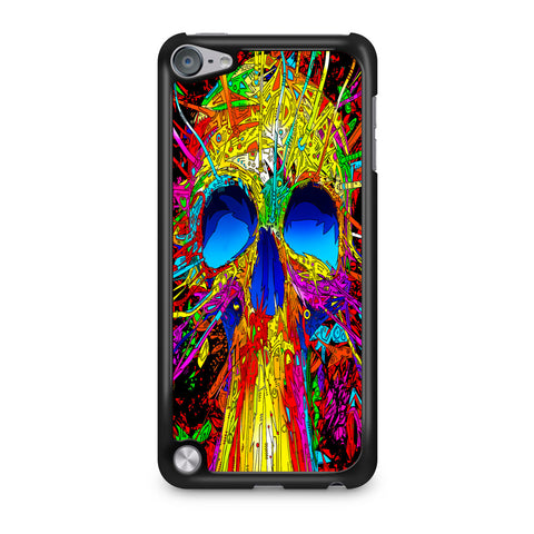Abstract Colorful Skull iPod Touch 5 Case