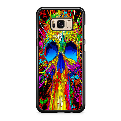 Abstract Colorful Skull Samsung Galaxy S8 | S8 Plus Case