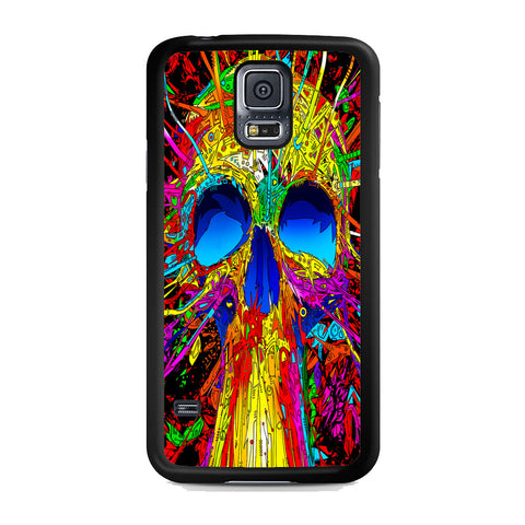Abstract Colorful Skull Samsung Galaxy S5 Case