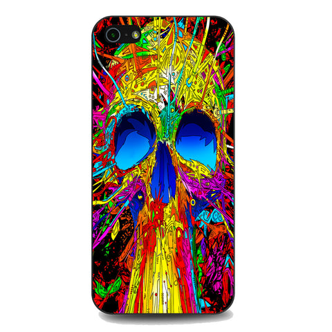 Abstract Colorful Skull iPhone 5 | 5S | SE Case