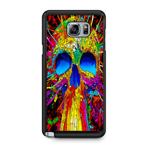 Abstract Colorful Skull Samsung Galaxy Note 5 Case
