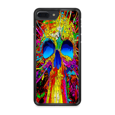 Abstract Colorful Skull iPhone 7 Plus Case