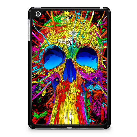 Abstract Colorful Skull iPad Mini 4 Case