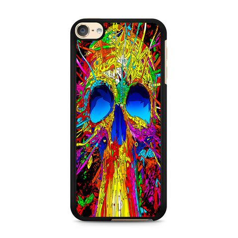 Abstract Colorful Skull iPod Touch 6 Case