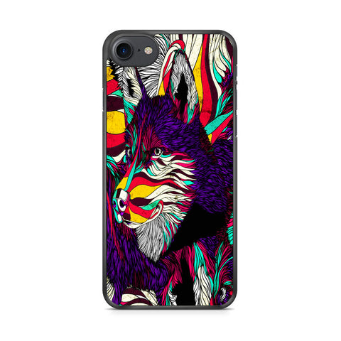 Abstract Dog iPhone 7 Case