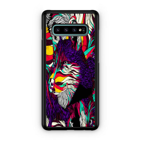Abstract Dog Samsung Galaxy S10 | S10e | S10 Plus | S10 5G Case