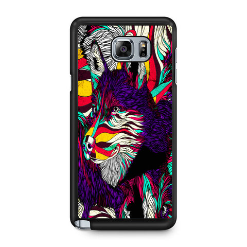 Abstract Dog Samsung Galaxy Note 5 Case