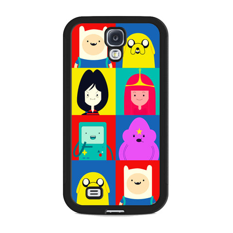 Adventure Time Characters Samsung Galaxy S4 Case