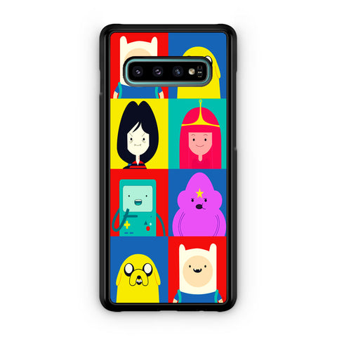 Adventure Time Characters Samsung Galaxy S10 | S10e | S10 Plus | S10 5G Case