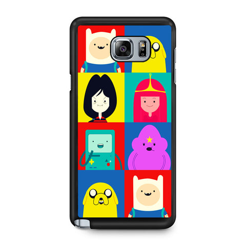Adventure Time Characters Samsung Galaxy Note 5 Case
