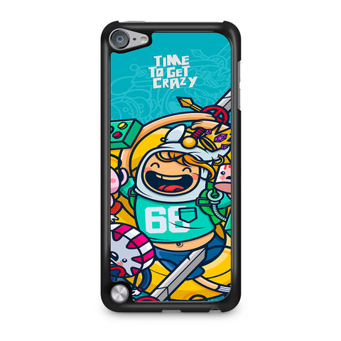 Adventure Time To Get Crazy iPod Touch 5 Case
