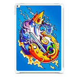 Adventure Time Vs Ice King iPad Pro 12.9 Inch Case