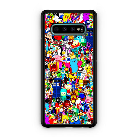 All Character Game And Movie Collage Samsung Galaxy S10 | S10e | S10 Plus | S10 5G Case