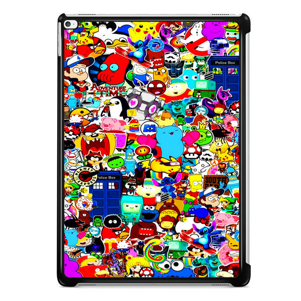 All Character Game And Movie Collage iPad Pro 12.9 Inch Case