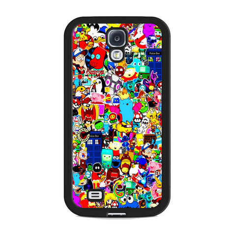 All Character Game And Movie Collage Samsung Galaxy S4 Case
