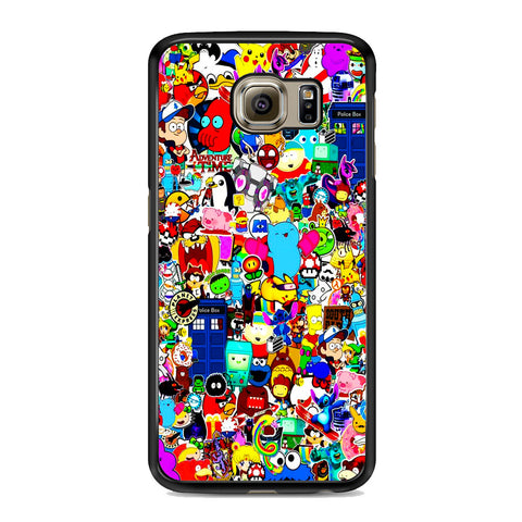 All Character Game And Movie Collage Samsung Galaxy S6 | S6 Edge | S6 Edge Plus Case