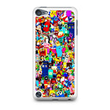 All Character Game And Movie Collage iPod Touch 5 Case