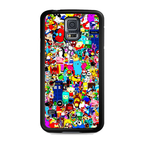 All Character Game And Movie Collage Samsung Galaxy S5 Case