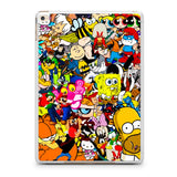All Characters Cartoon Collage iPad Air | Air 2 Case